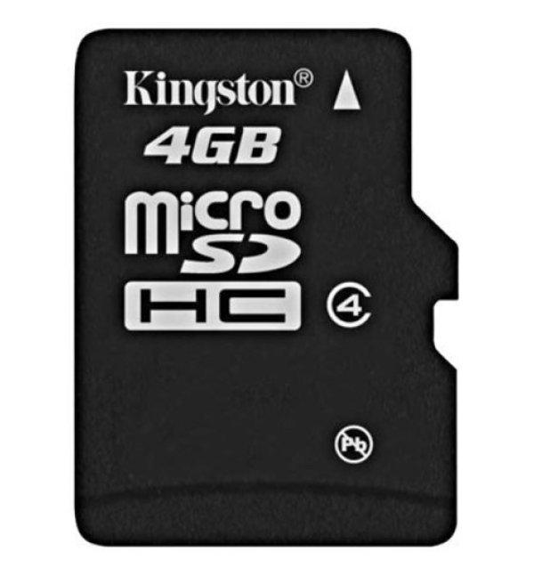 Kingston Class 4 MicroSDHC Card - With Adapter